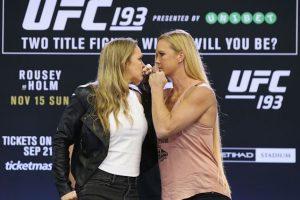 Ahora se prepara para su combate del próximo 15 de noviembre frente a Holly Holm en UFC 193. Foto:Getty Images