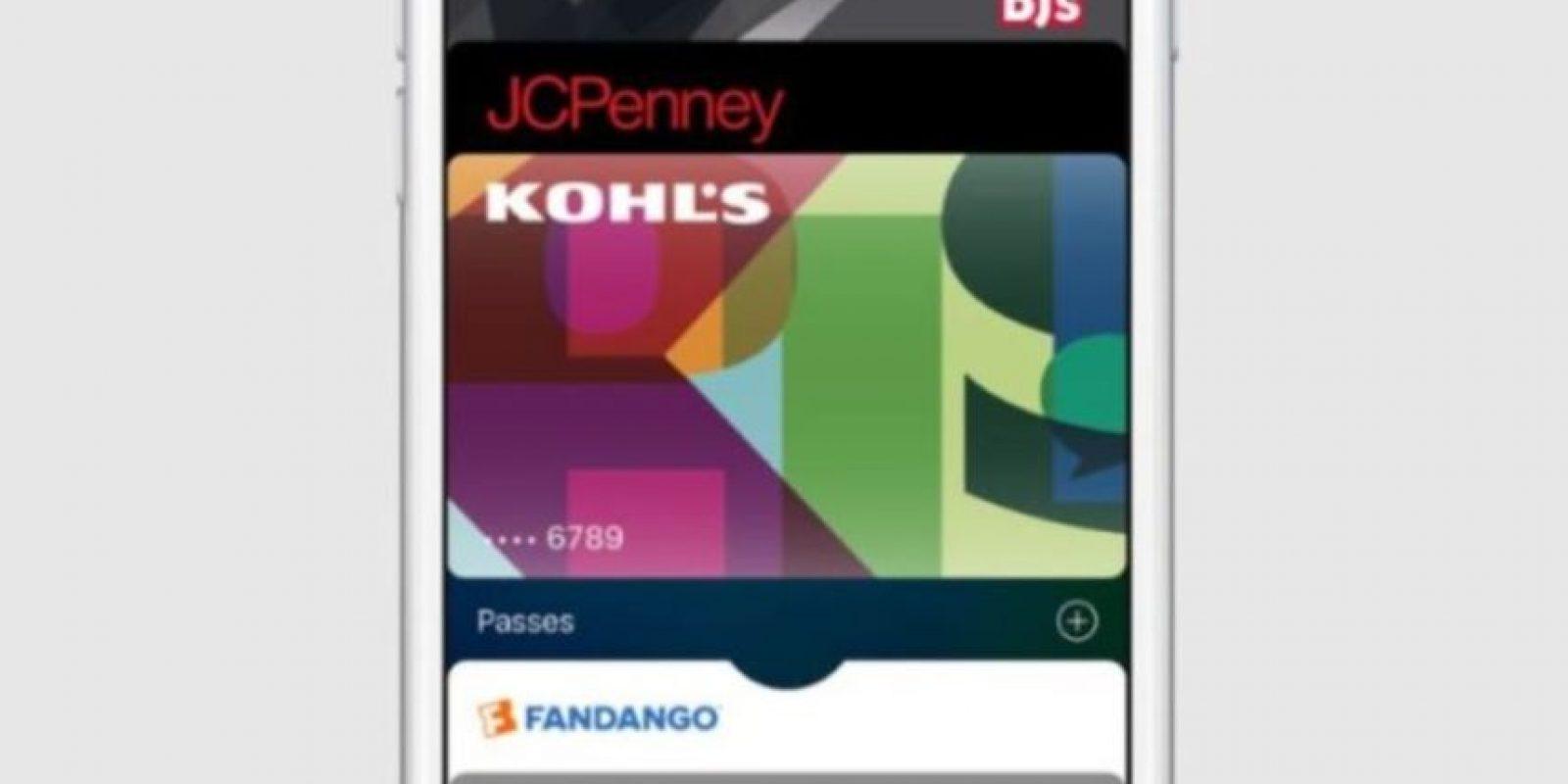 Walllet es el administrador de tarjetas de crédito para iPhone. Foto:Apple