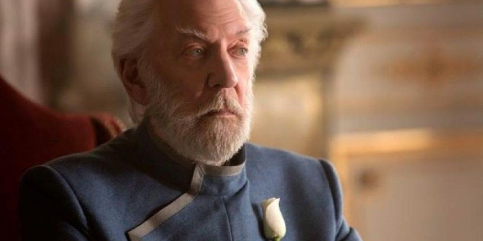 """""""Snow"""" es un hombre autoritario. Foto:IMDb"""
