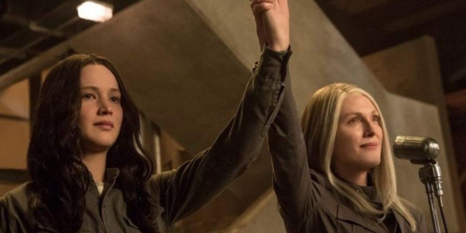 """La misión de """"Katniss"""" es derrocar la presencia del Capitolio en Panem. Foto:IMDb"""