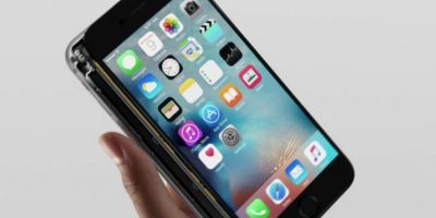 La pantalla casi ensamblada. Foto:Apple