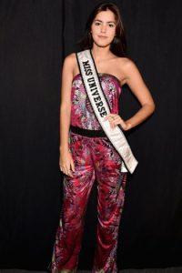 Paulina Vega no destaca por sus estilismos precisamente en este evento. Foto:vía Getty Images