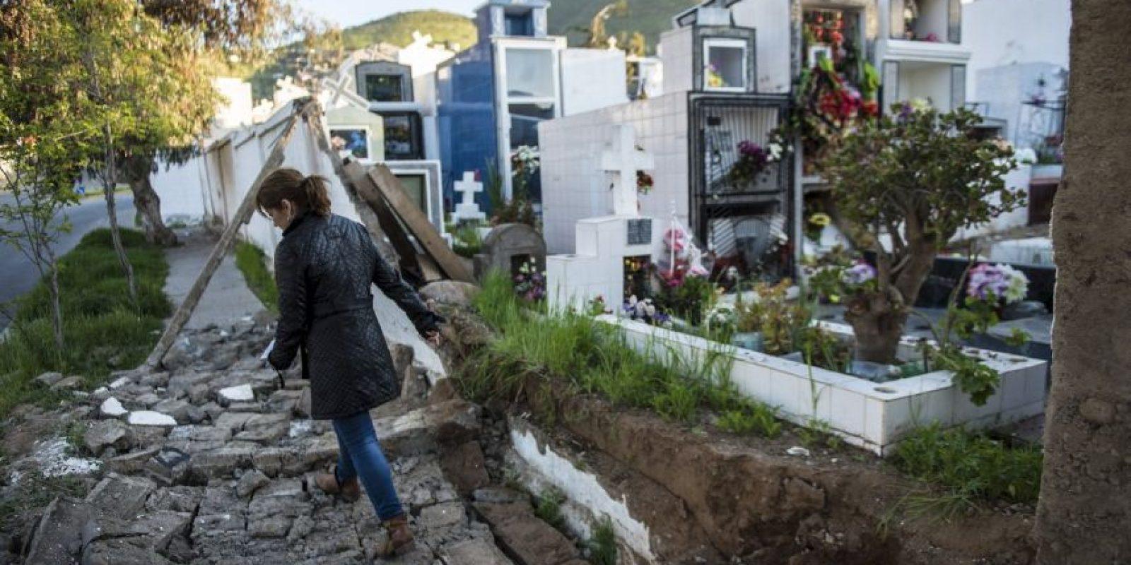 Coquimbo, es la región más afectada del país Foto:AFP