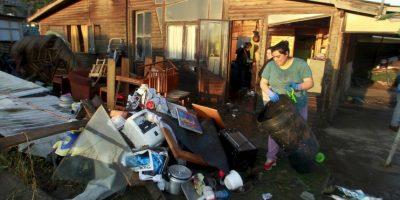 Se han sentido potentes réplicas de hasta magnitud 7.3. Foto:AFP