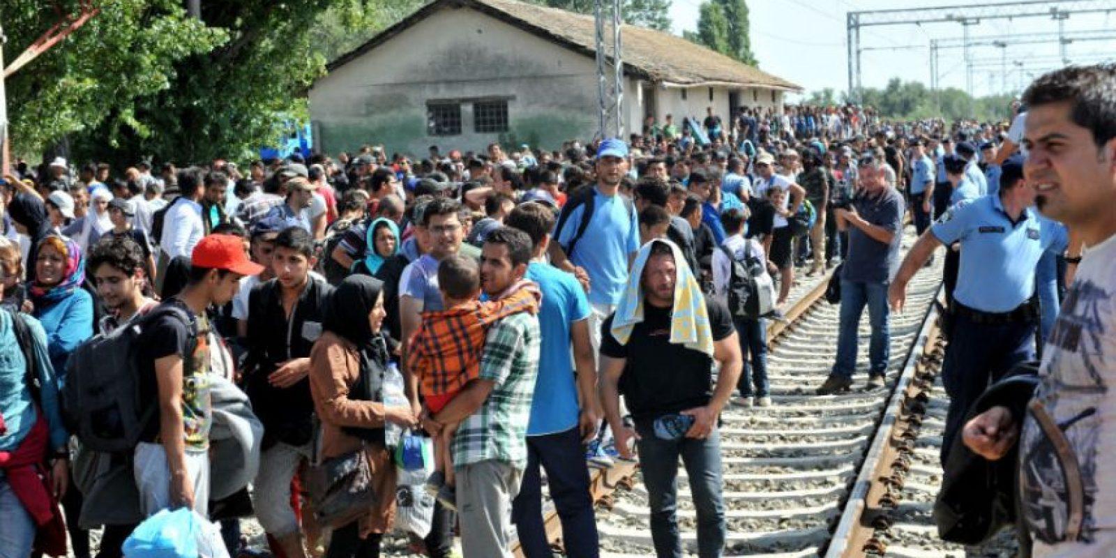 Cientos de los recién llegados ya han presentado solicitudes de asilo. Foto:AFP
