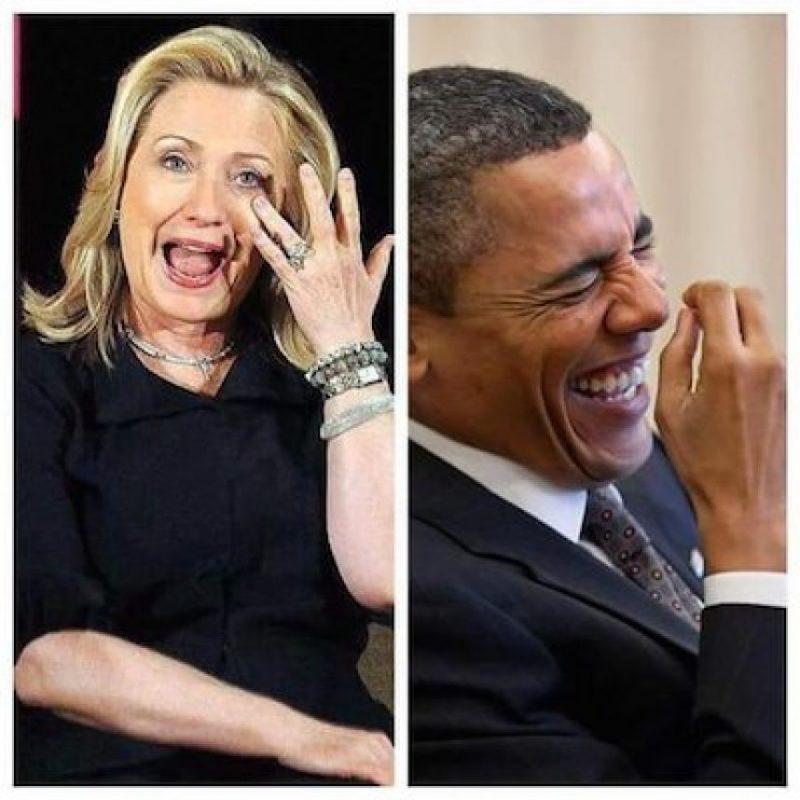 Y del presidente Barack Obama Foto:Twitter.com