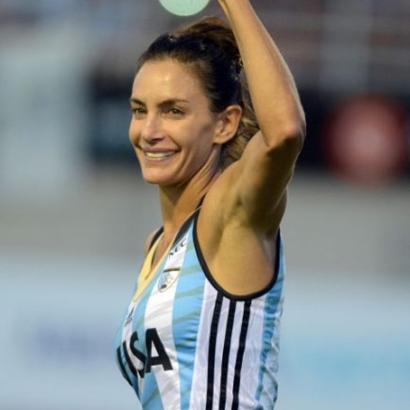 3. Luciana Aymar Foto:Getty Images