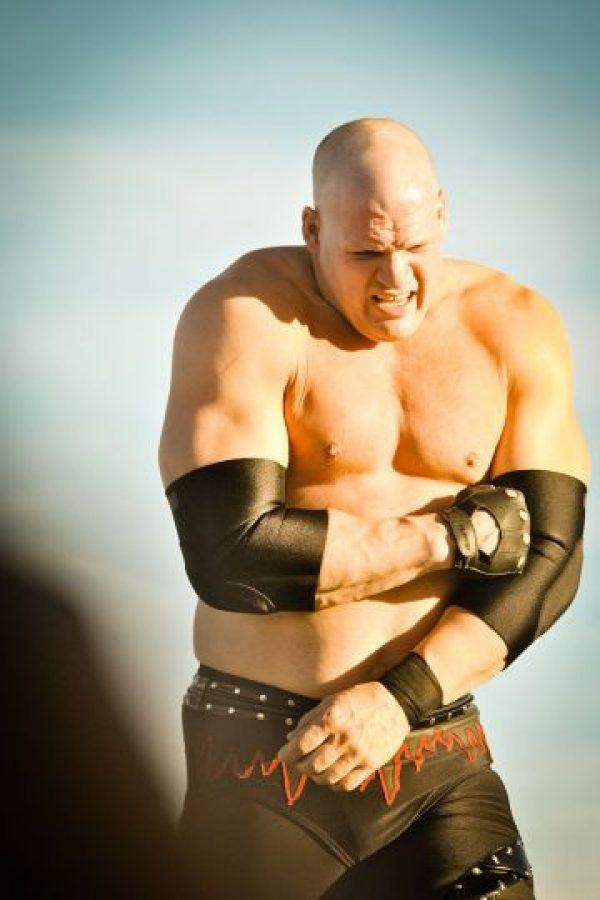 Kane sin máscara Foto:WWE