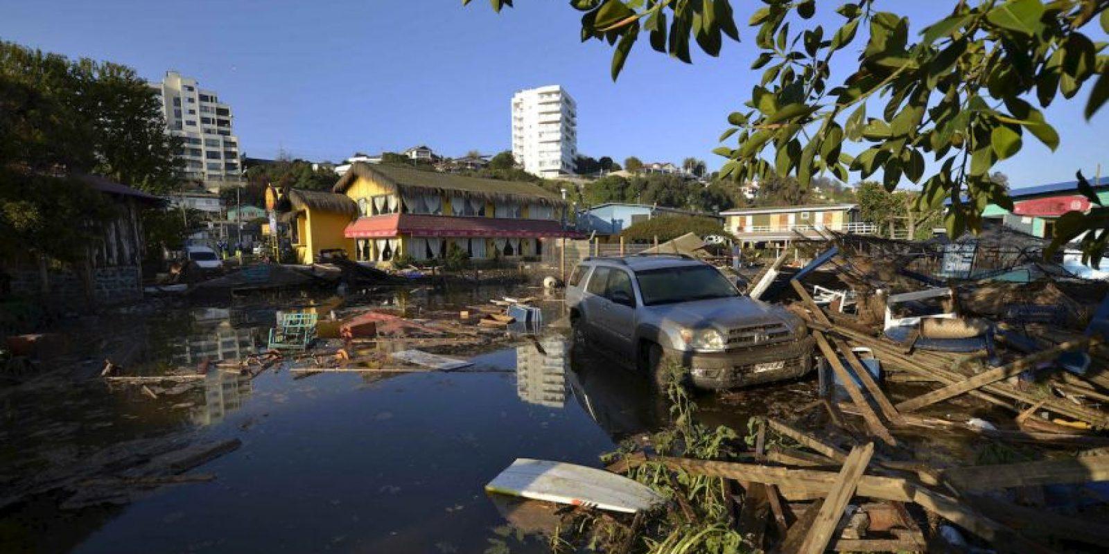 El sismo de magnitud 8.3 duró tres minutos. Foto:AP
