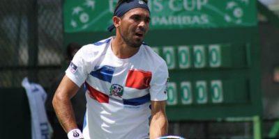 Víctor Estrella enfrentará a Benjamin Becker en primer partido de Copa Davis