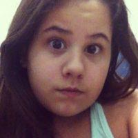 """""""Mis papás tienen actitudes normales. Me educan, me retan, me dan amor, me dan cariño y me ayudan"""", aseguró Lannes Foto:vía instagram.com/karolina_lannes"""