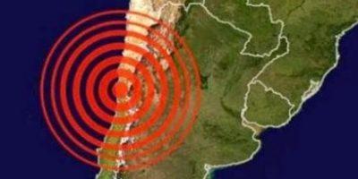 Video: Así llegan las primeras olas del tsunami a Chile luego del sismo