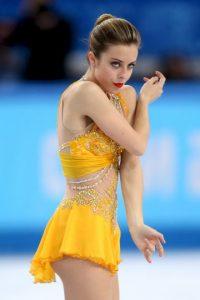 La bella patinadora estadounidense fue relacionada por muchos años con el también patinador Adam Rippon, aunque en realidad ellos son sólo amigos y ella no tiene novio actualmente. Foto:Getty Images