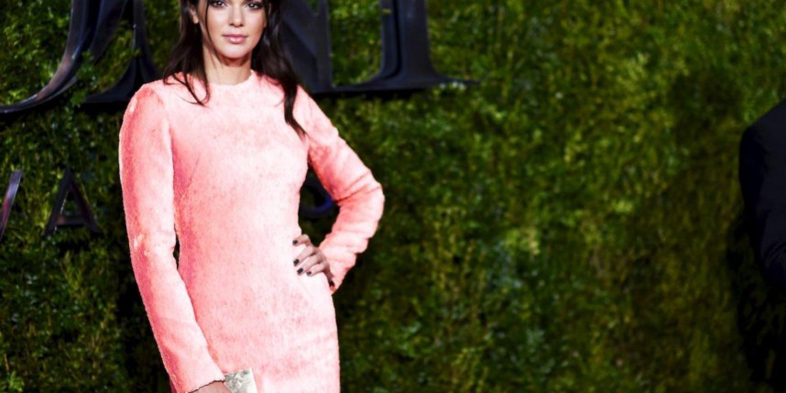 """Kendall Jenner es la modelo más joven y mejor pagada según la revista """"Forbes"""" Foto:Getty Images"""