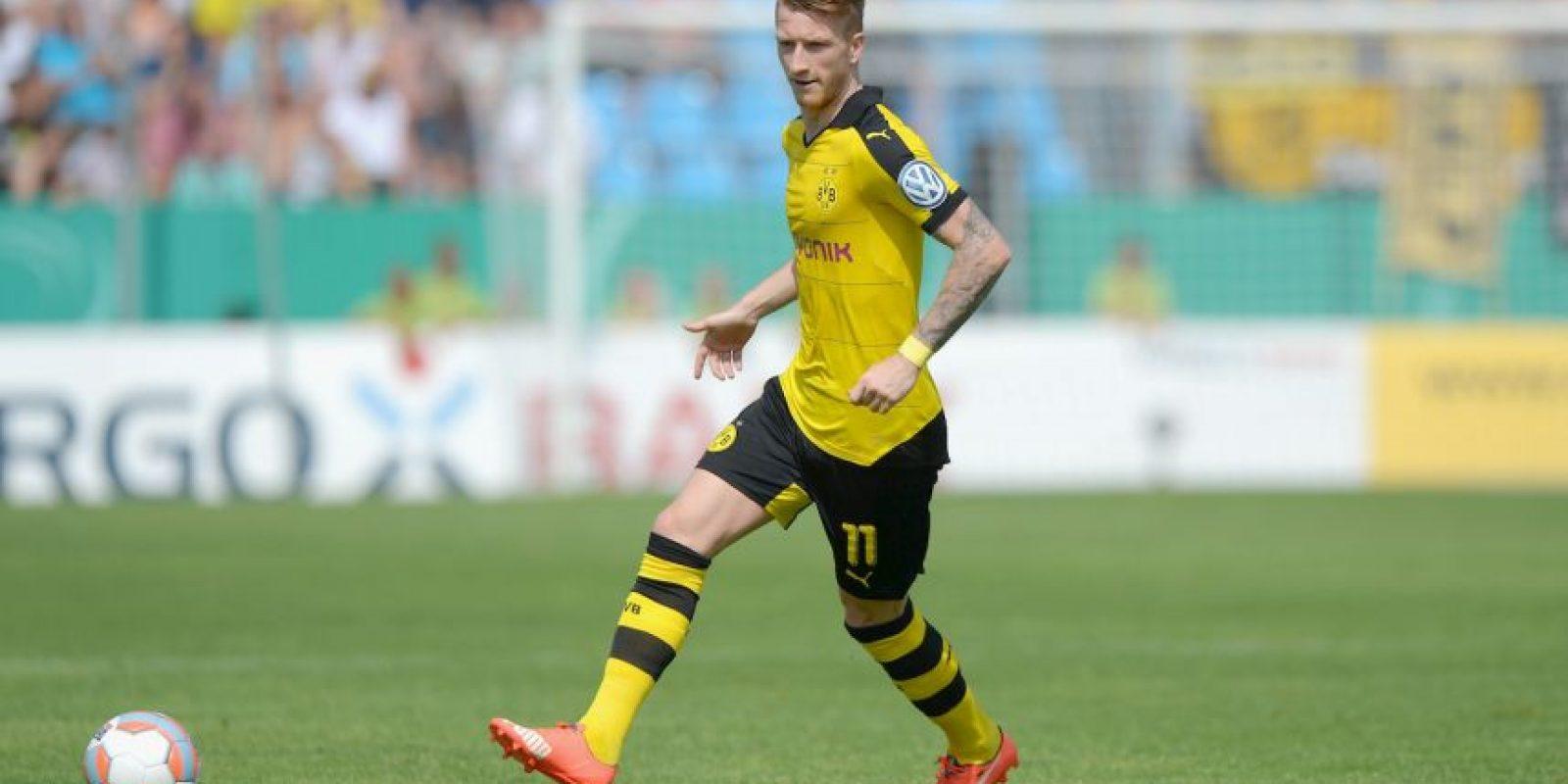 El alemán del Borussia Dortmund es el último que ingresó al top-ten de cobradores de faltas Foto:Getty Images