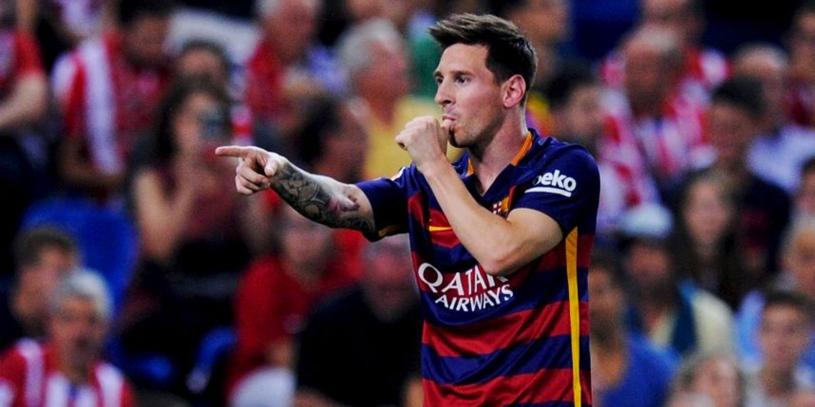 """La """"Pulga"""" es el quinto mejor tirador del FIFA 16 Foto:Getty Images"""