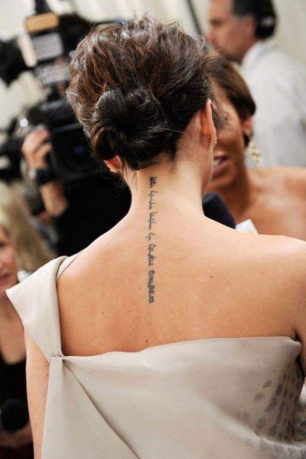 """La diseñadora ha decidido eliminar la frase """"yo soy de mi amado y mi amado es mío"""" Foto:Getty Images"""