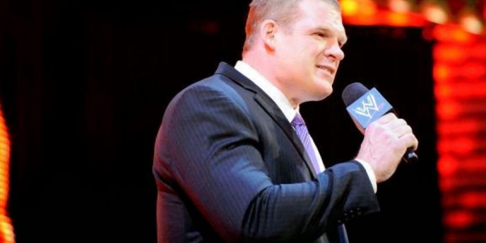 """Kane como parte de """"La Autoridad"""" Foto:WWE"""