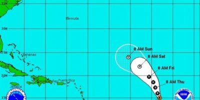 Se fortalece la novena depresión tropical en el Atlántico