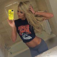 Esta bella diva de la WWE no tiene novio ni se sabe si está saliendo con alguien, por lo que sus miles de admiradores pueden tener una ligera esperanza. Foto:Vía instagram.com/daniellemoinet