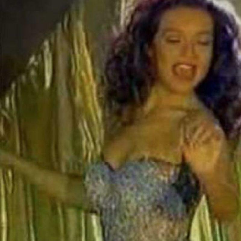 """Este vestido de cristales en """"Marimar"""". Foto:vía Canal de las Estrellas"""