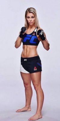 """Antes de participar en la UFC, Paige perteneció a """"Invicta"""", una empresa donde sólo pelean mujeres Foto:Vía instagram.com/paigevanzantufc"""