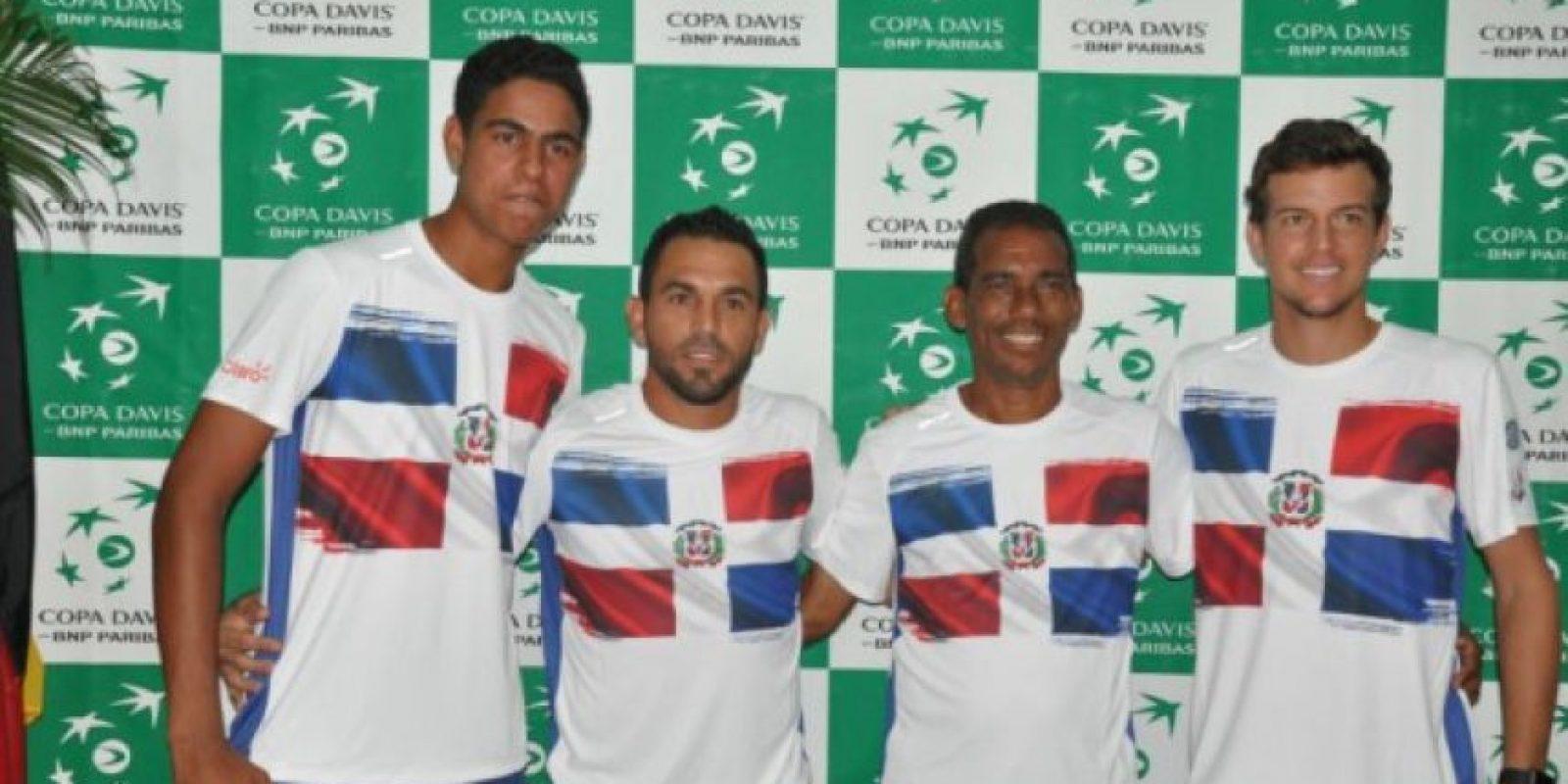 Equipo dominicano que estará en Copa Davis.