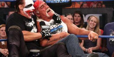 Por un tiempo adoptó el rol de Joker-Sting Foto:WWE