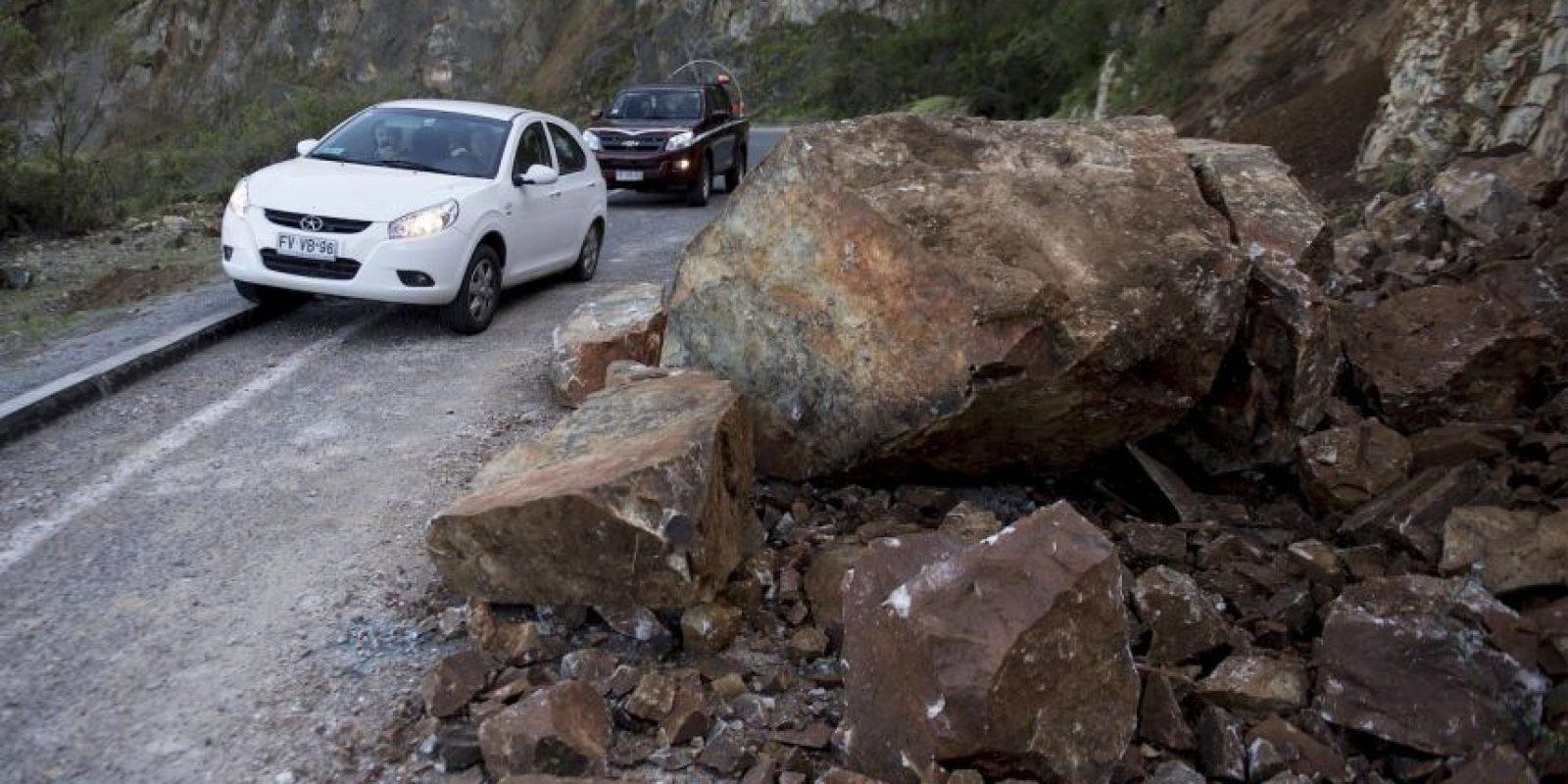 La magnitud de las réplicas varía entre los 4 y los 6 grados Richter Foto:AFP