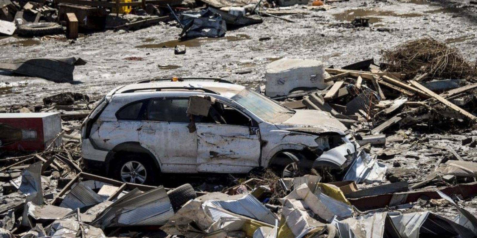 """""""Agradezco, a nombre del Gobierno, a quienes ayudaron en las tareas de rescate"""", señaló el ministro del Interior Foto:AFP"""