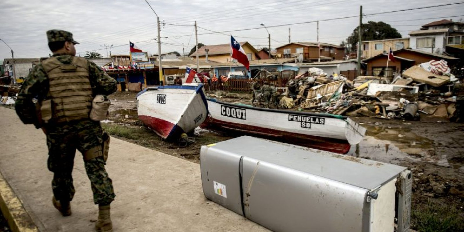 Se elevan a 13 las víctimas fatales por terremoto en el norte del país. Foto:AFP