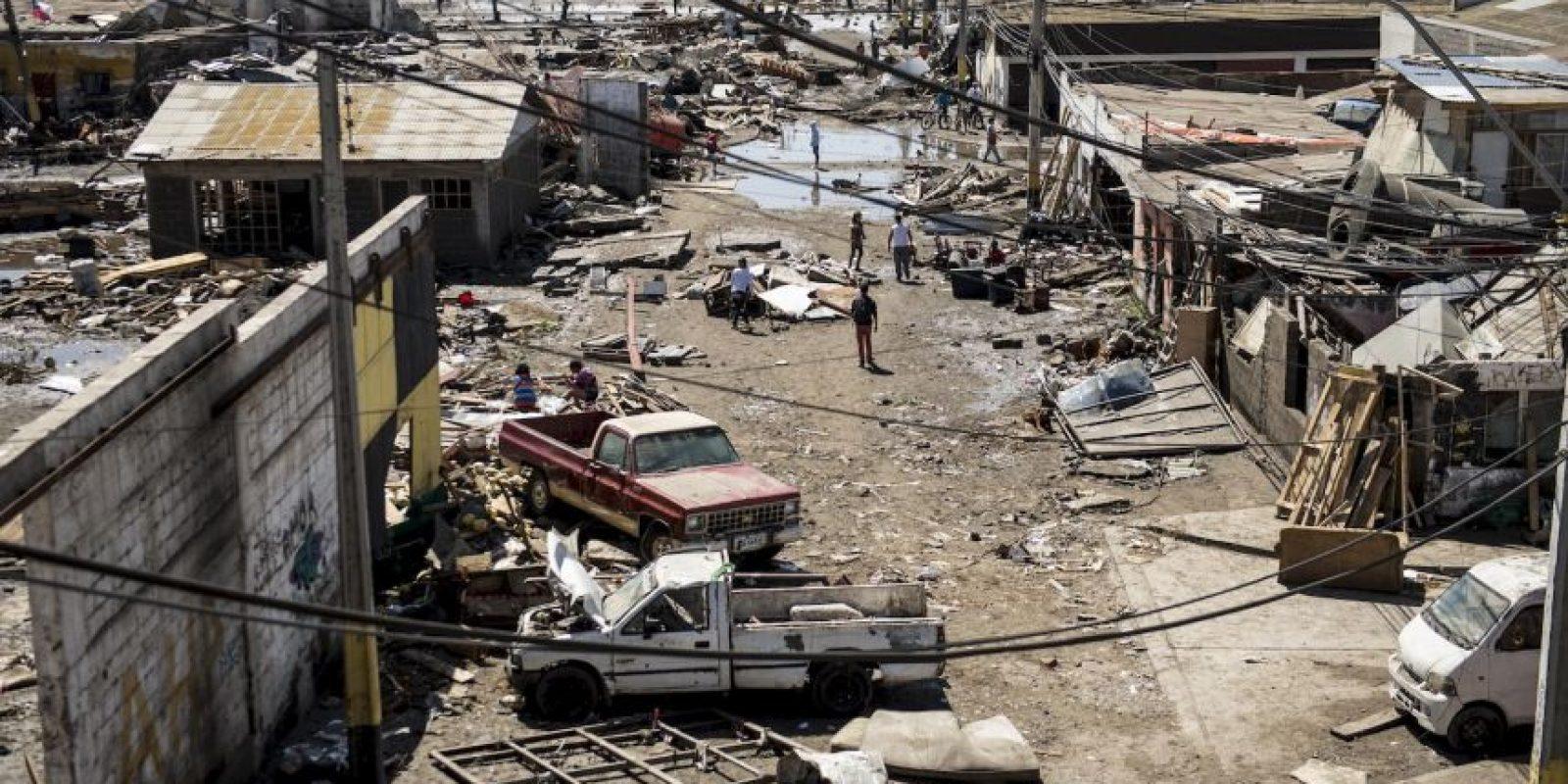 Se reportan 40 mil hogares sin suministro eléctrico Foto:AFP