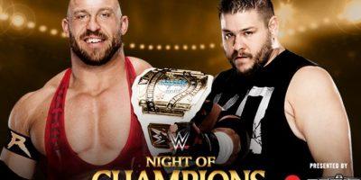 Campeonato Intercontinental: Ryback vs. Kevin Owens. Foto:WWE