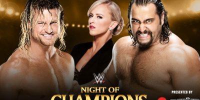 Dolph Ziggler vs. Rusev (con Summer Rae). Foto:WWE