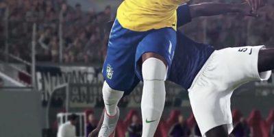 Los brasileños eludiendo la marca. Foto:Konami