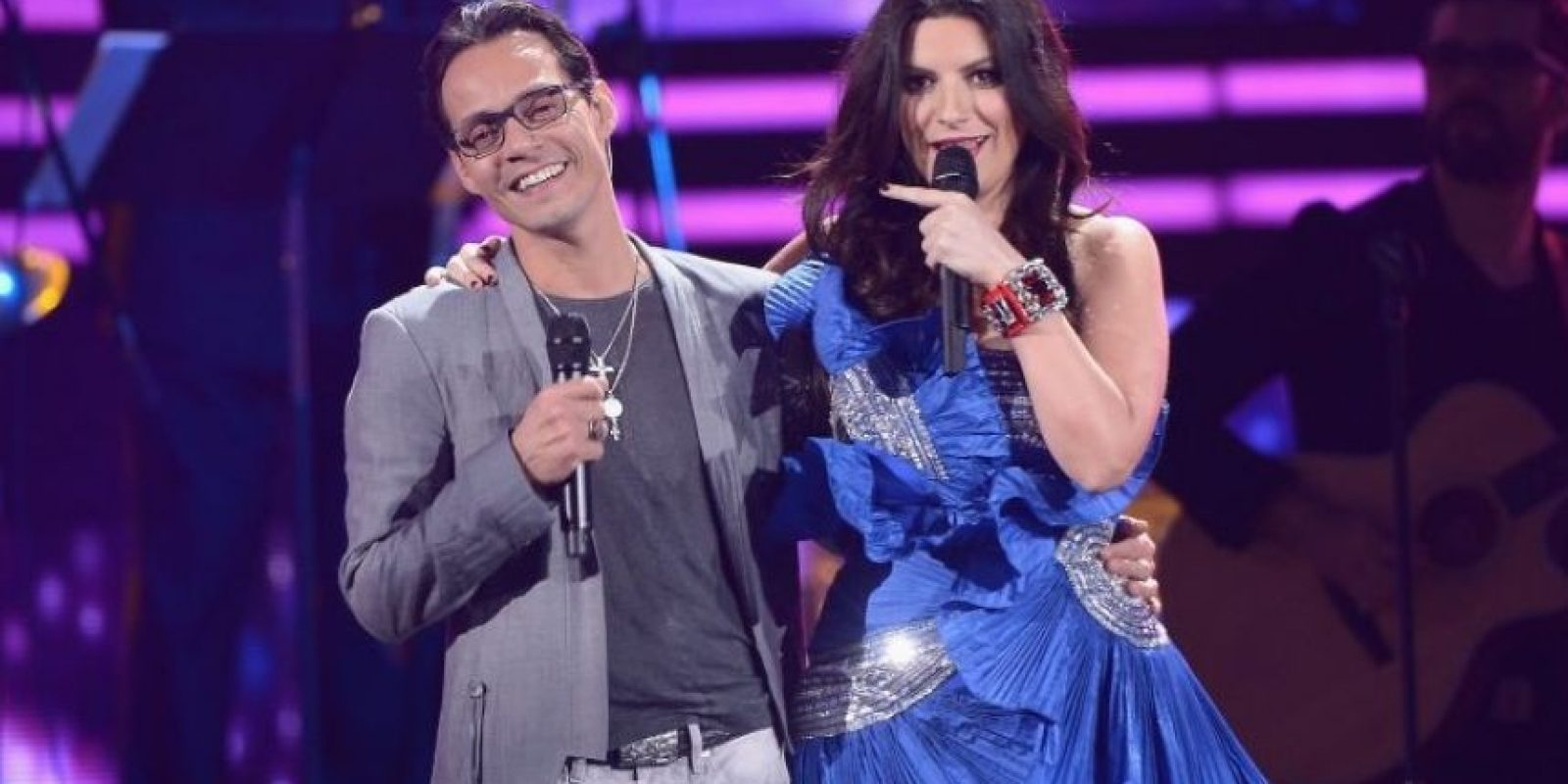 3. Tendrá invitados de lujo como: Marc Anthony, Laura Pausini Foto: Getty Images