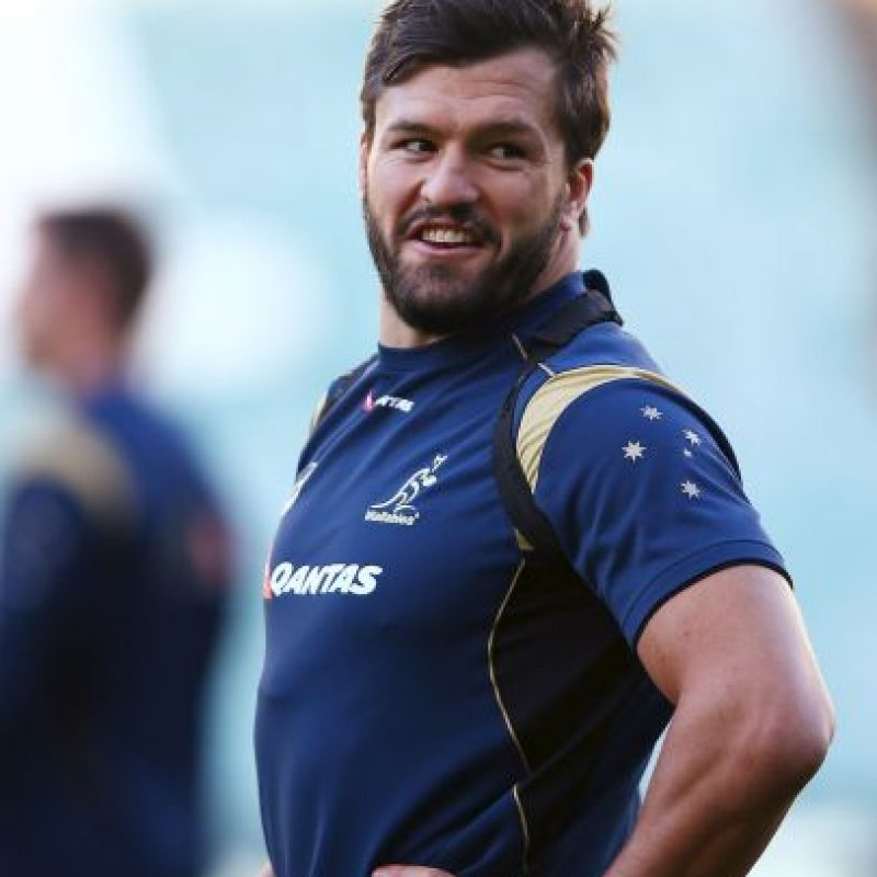 Con 31 años, este guapo australiano juega en el Union Bordeaux Begies de Francia. Foto:Getty Images
