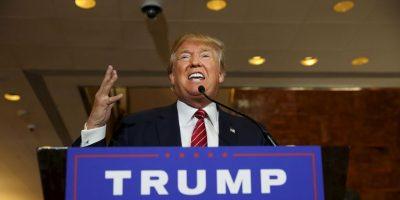 """""""Los buenos regresarán… legalmente"""", Trump sobre la migración. Foto:Getty Images"""