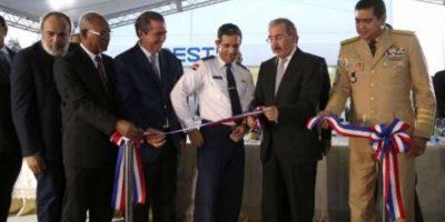 El presidente Danilo Medina inagura destacamento de Cestur en Juan Dolio