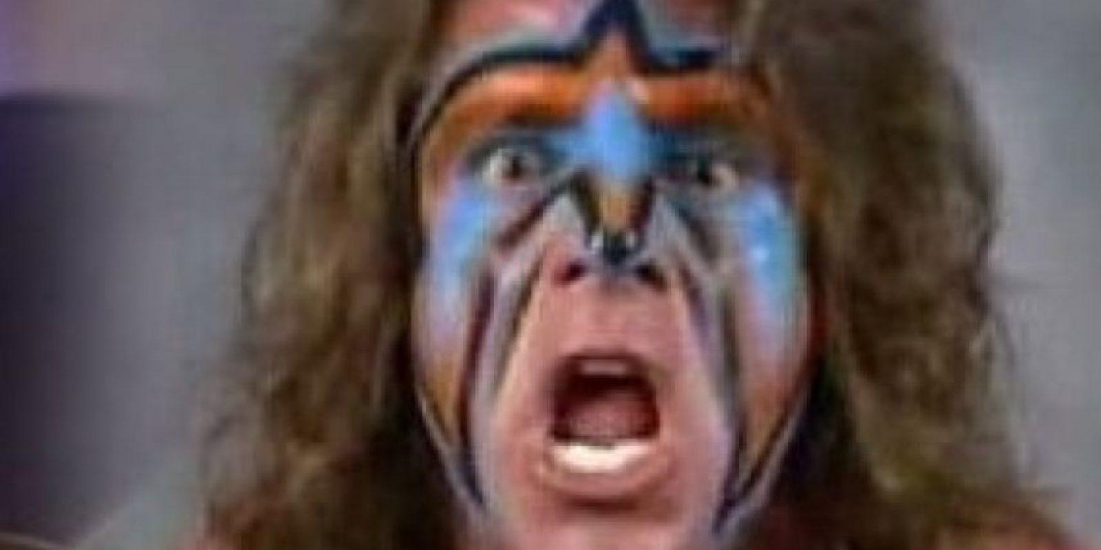 """James Brian Hellwig era un luchador famoso en los años 80, se llamaba """"The Ultimate Warrior"""". Foto:vía Getty Images"""