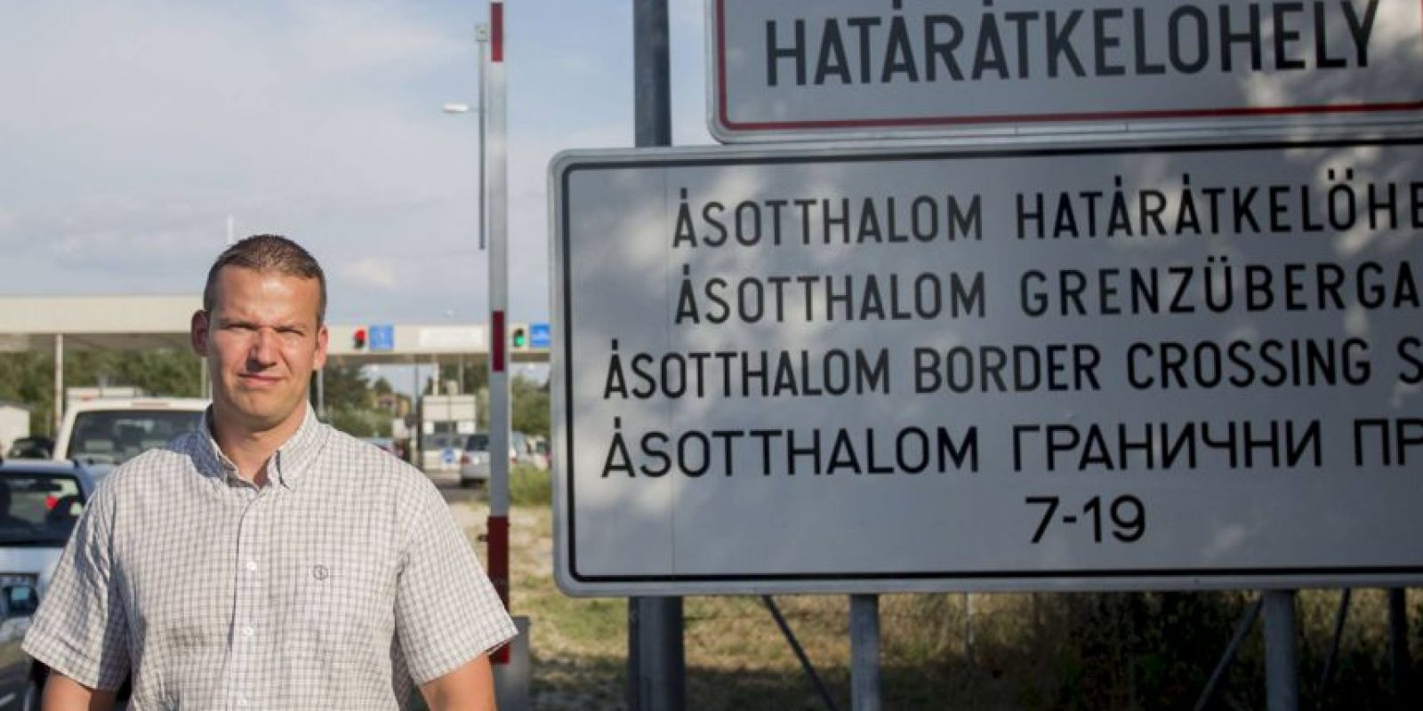 En el video László Toroczkai reafirma que la llegada de migrantes ilegales no es bien recibida. Foto:Vía facebook.com/laszlo.toroczkai