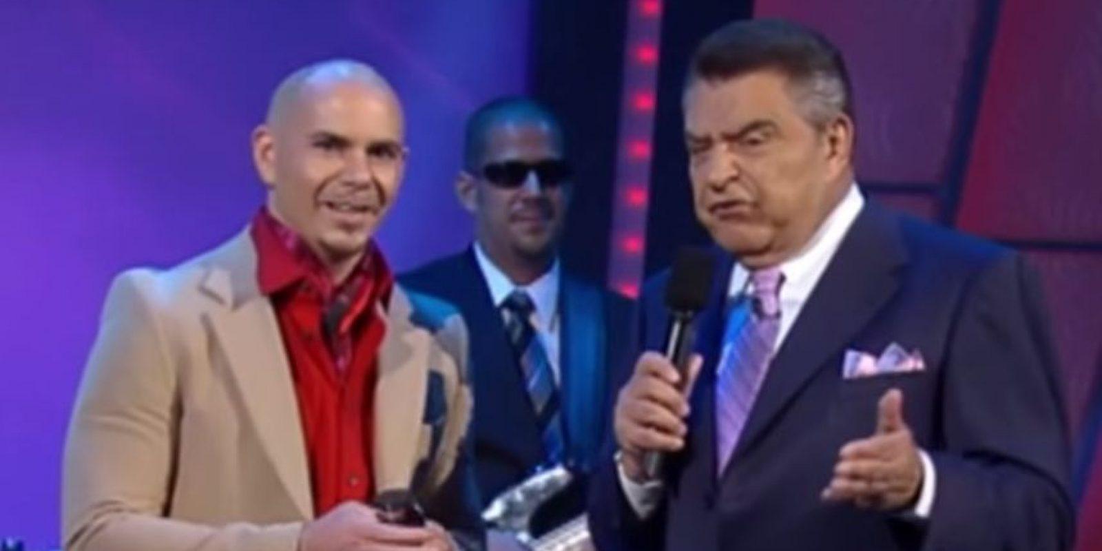 Pitbull Foto:Univisión
