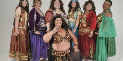 3. Danza Oriental: una actividad que se cree restringida, comercialmente, para mujeres con figura escultural. Pero esta danza milenaria es para todo tipo de cuerpos y está lejos de la sexualidad. Así lo muestra Fatimas. Foto:vía Facebook/Fatimas