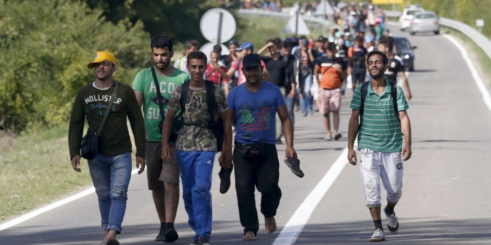 El gobierno cree que los migrantes usaran el país como vía para llegar Alemania Foto:AP