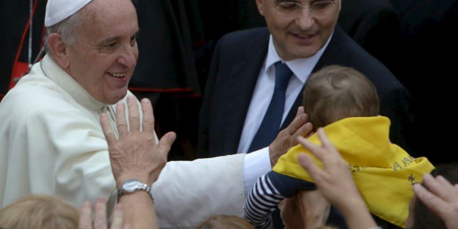 Luego de su visita a Cuba el papa Francisco irá a Estados Unidos. Foto:Getty Images