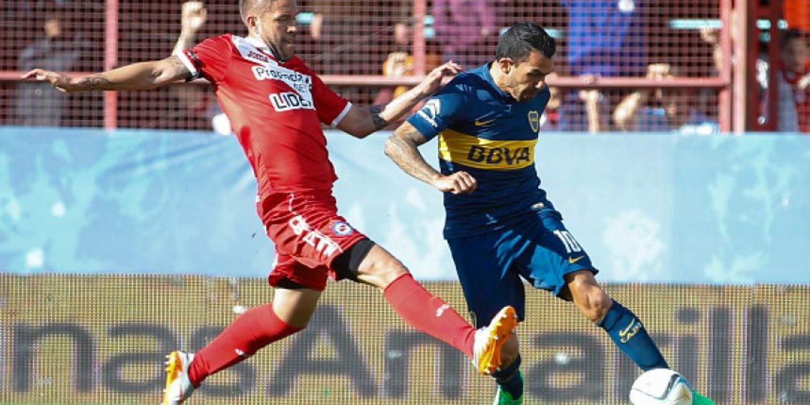 Carlos Tévez juega su primer torneo en Argentina tras su regreso a Boca Juniors. Foto:Getty Images