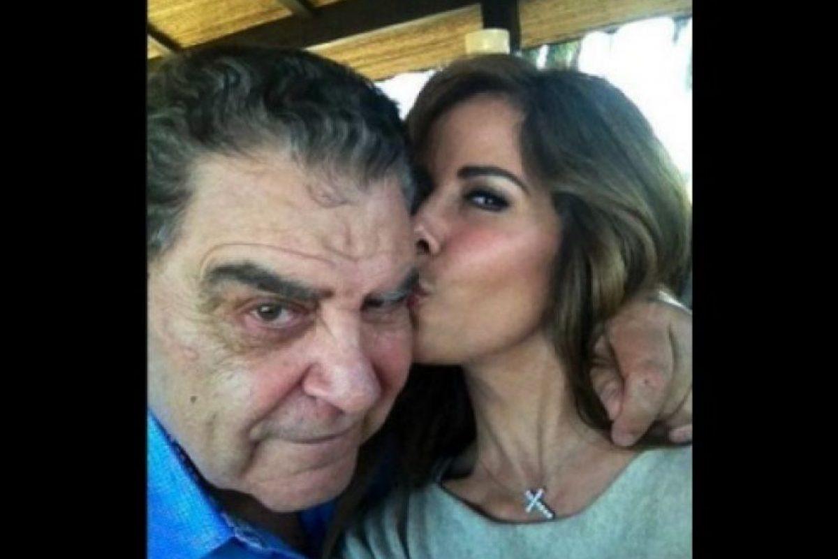 Don Francisco y Gloria Trevi Foto: Twitter @sabadogigante