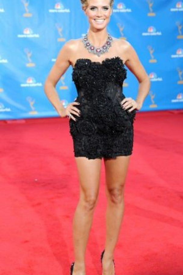 Heidi Klum en 2011, como una patinadora artística. Foto:vía Getty Images