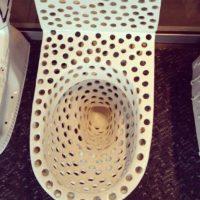 Según el sitio Tripofobia.com, esto sería un mecanismo de defensa. Foto:vía Imgur