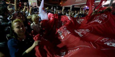 Primeros resultados dan la victoria a Syriza